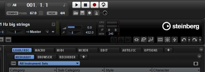 Kammerton A4 = 432 Hz - Master Tune