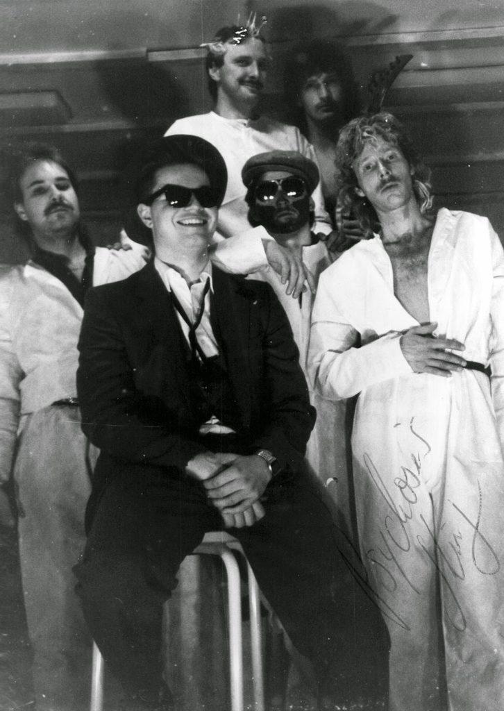 Cosmo Welfare und seine Musikgruppe