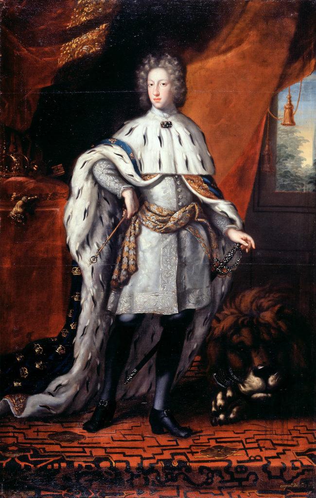 Karl der Zwölfte von Schweden 1697