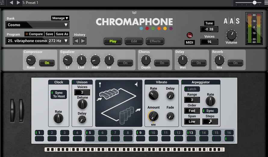 Chromaphone - AAS