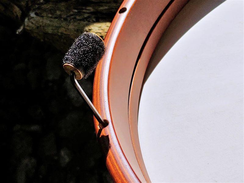 Stimmen einer Frame Drum